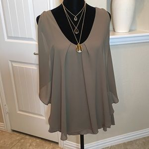 Olive Green T-shirt Top